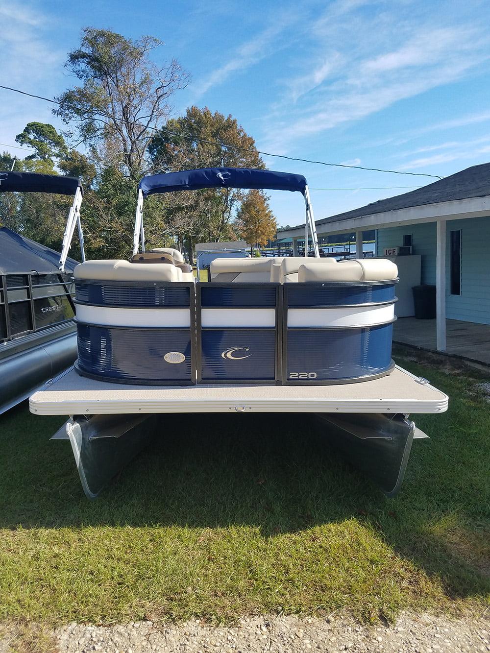 2019 CREST I 220L BLUE/WHITE - Meares Marine